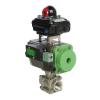 ball valve with actuator