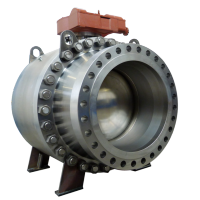 Trunnion stainless steel ball valve