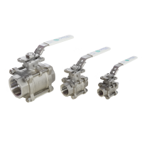 3 stainless steel ball valve
