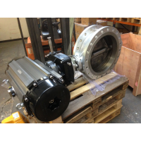 stainless steel butterfly valve with actuator