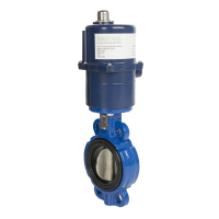 blue actuator valve from UK