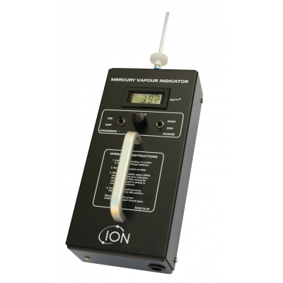 portable mercury vapour analyzer by Ion Science
