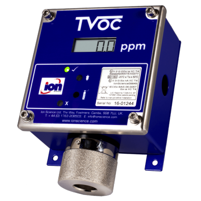 TVOC, the fixed VOC gas detector from Ion Science