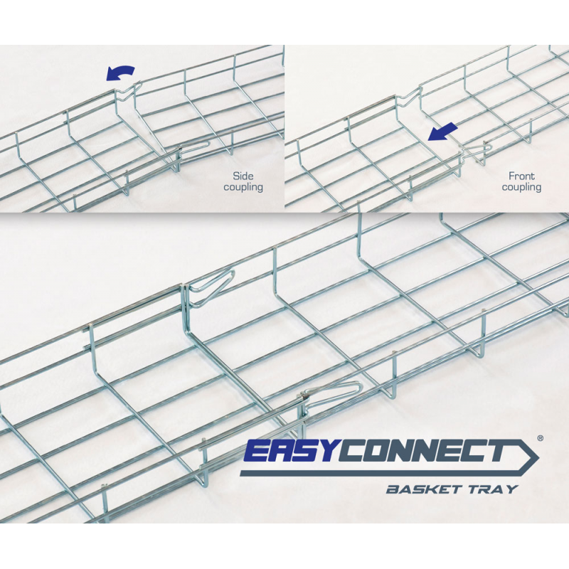 EASYCONNECT wire mesh cable trays EC60 Series | valdinox | Export ...
