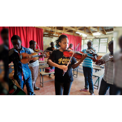 BBICO supplies marching band instruments to the kenyan youth orchstra