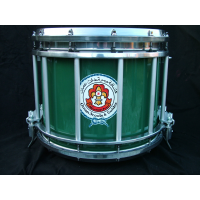 Drum cases and custom graphics are one piece of essential military band equipment