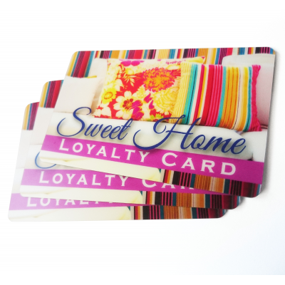 Company Cards plastic loyalty card printing