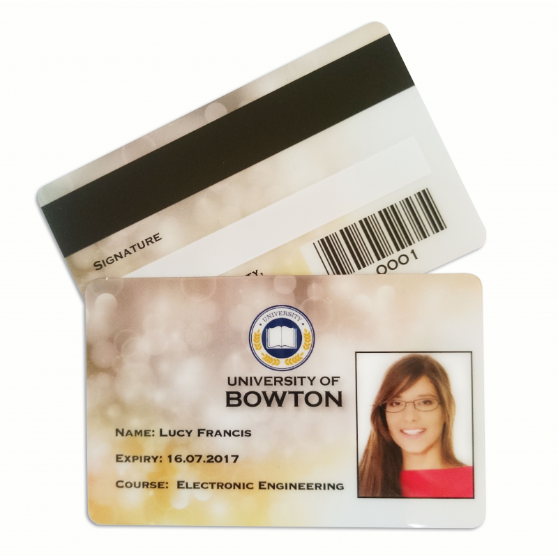 plastic id card printing service - Plastic Id Cards
