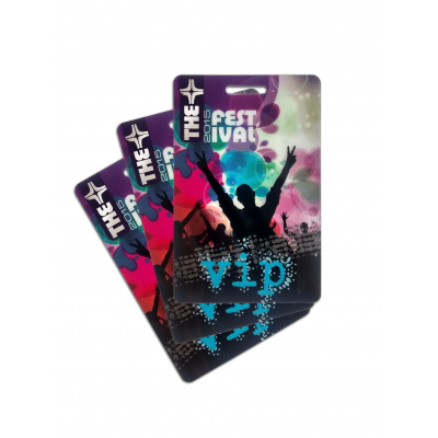 Company Cards custom VIP passes