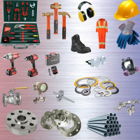 Oil and Gas Buying House UK products, non spark tools, oil pipe, gaskets, flanges, gauges, work gloves, safety boots, power tools