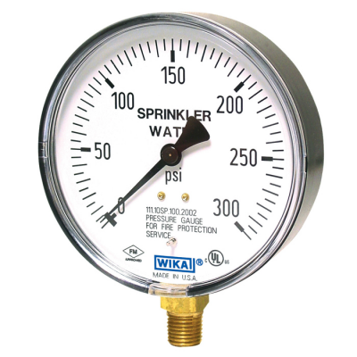 UK Procurement for Pressure Gauges Bourdon Tube 2