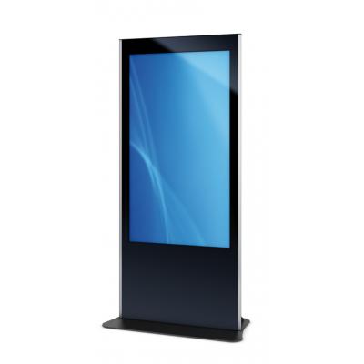 Una unidad de pantalla táctil PCAP a través del tótem