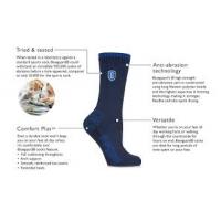 Calcetines con punta de acero con diagrama de características y beneficios