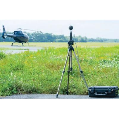medidor de nivel de sonido al aire libre