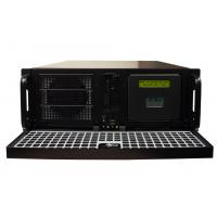 Confiable servidores NTP NTS-8000 vista frontal abierta