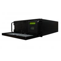 Secure NTP Server vista derecha de la unidad con la puerta abierta