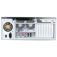 Montaje en rack doble servidor de tiempo NTS-8000 vista posterior