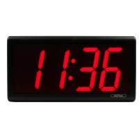Reloj de red PoE Inova de cuatro dígitos