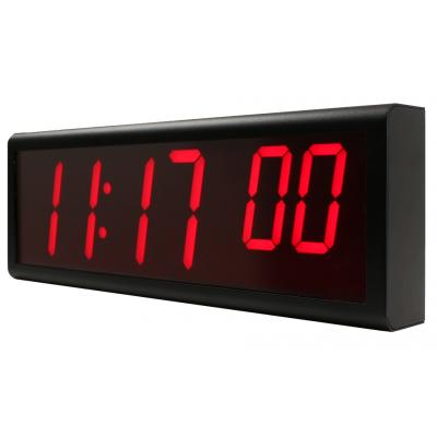 Reloj de red PoE Inova de seis dígitos