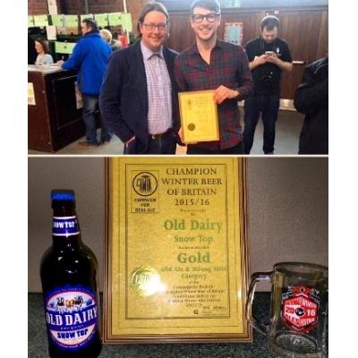 ganador de premios cervecería británica