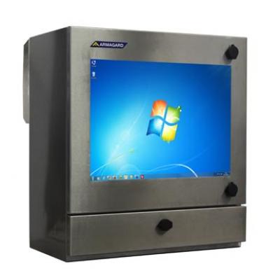 Carcasa impermeable ordenador industrial SENC-400