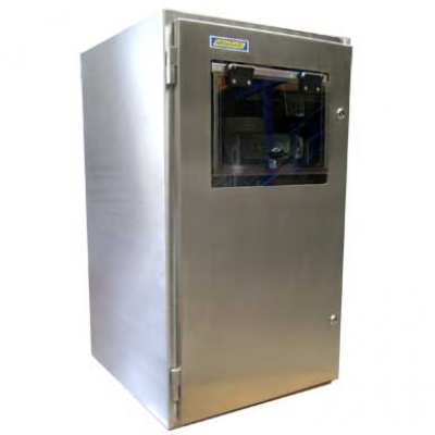 Acero inoxidable recinto impresora SPRI-700
