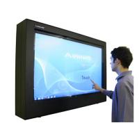 imagen principal digital de la pantalla táctil de señalización