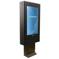 Señalización digital para exteriores de Armagard