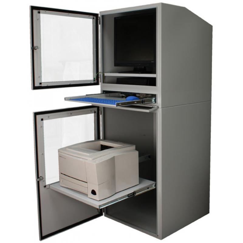 Inform tica industrial gabinete ip54 todo en uno for Mueble para cpu