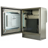 compacta pantalla táctil resistente al agua puerta abierta