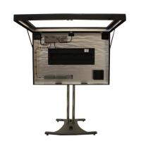 alto brillo LCD abierta pantalla que muestra el interior