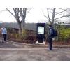 La luz del sol tótem digital que puede leer en Loughbrough