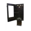 puerta de la caja de señalización digital al aire libre abierta qsr