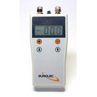 PC mano. manómetro diferencial y caudalímetro