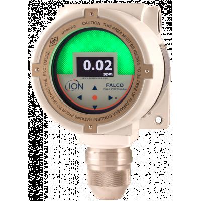 Detector de gas fijo certificado Falco, Ex D