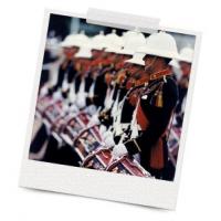 Equipo de banda militar