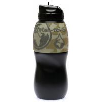 Agua para ir a mochilero botella de filtro de agua
