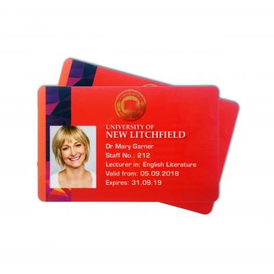 Tarjetas de empresa del fabricante de tarjetas RFID