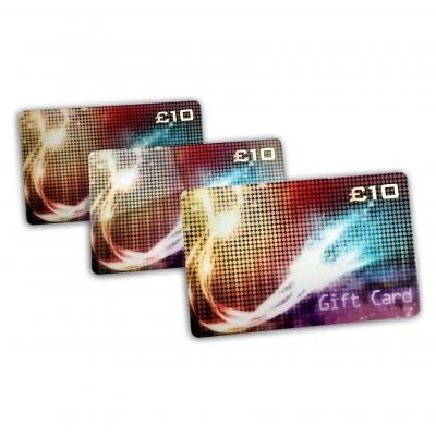 Tarjetas de empresa de impresión de tarjetas de regalo personalizadas