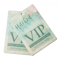 insignias de eventos personalizados Tarjetas de empresa