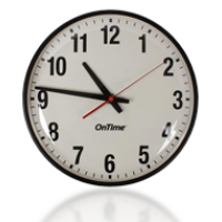 PoE Horloge analogique avant