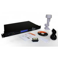 Serveur de temps réseau GPS NTP, récepteur et logiciel TimeSync