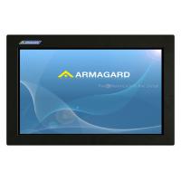 LCD enceinte vue de face de l'unité