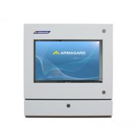 Dust Computer Proof enceinte vue de face avec écran