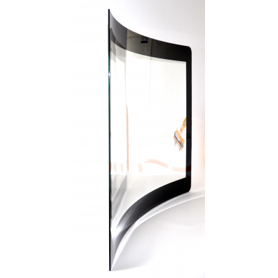 विजुअलप्लानेट द्वारा घुमावदार टच स्क्रीन ग्लास उत्पाद