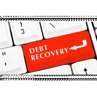 UK Debt Collection - Keybord key