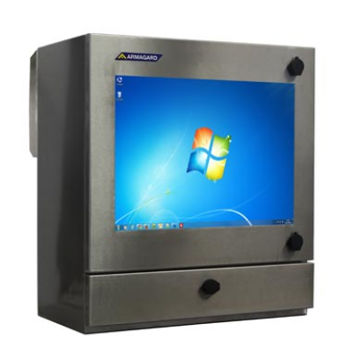 निविड़ अंधकार औद्योगिक कंप्यूटर बाड़े मुख्य छवि