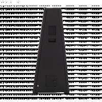 आउटडोर डिजिटल ए-फ्रेम साइनेज साइड व्यू।