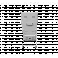 वॉकवे डिजिटल साइनेज रियर व्यू।