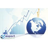 अंतर्राष्ट्रीय व्यापार के निर्यात के साथ लाभ दुनिया भर में निर्यात